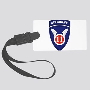 11th Airborne division Large Luggage Tag