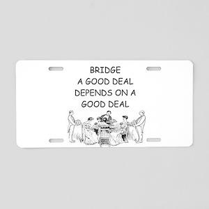 BRIDGE2 Aluminum License Plate