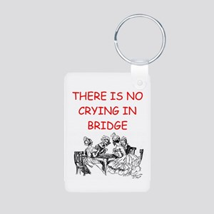 BRIDGE Aluminum Photo Keychain