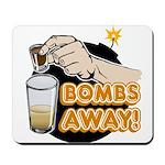 Bombs Away! Mousepad