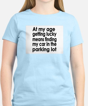 Over the Hill Getting Old Women's Light T-Shirt