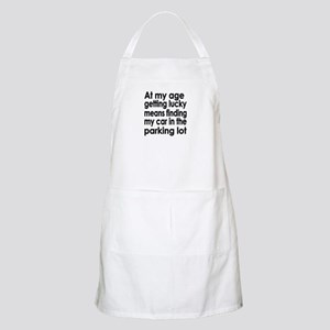 Over the Hill Getting Old BBQ Apron