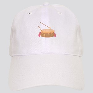Feathered Drum Baseball Cap