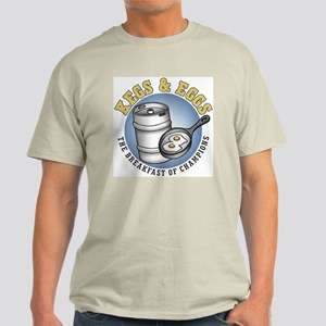 Kegs & Eggs (light shirt) Light T-Shirt