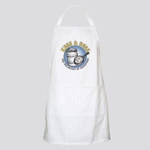 Kegs & Eggs (light shirt) BBQ Apron