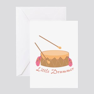 Little Drummer Greeting Cards