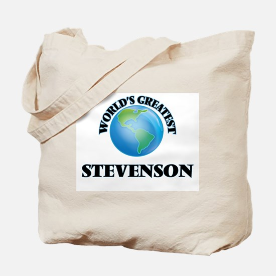 World's Greatest Stevenson Tote Bag