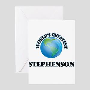 World's Greatest Stephenson Greeting Cards