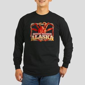 CRAB CREW Long Sleeve Dark T-Shirt