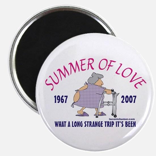 Summer of Love-grandma Magnet