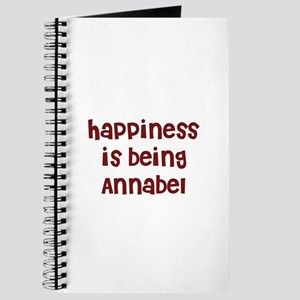 happiness is being Annabel Journal