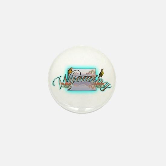 Wyoming Mini Button