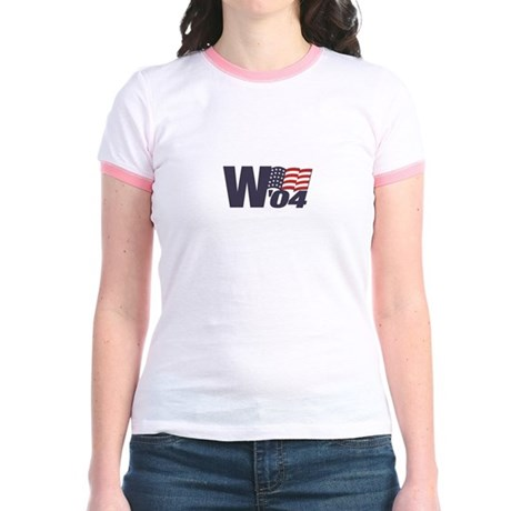 Women's Ringer Shirt, Also Gold and Avacado Colors