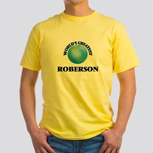 World's Greatest Roberson T-Shirt