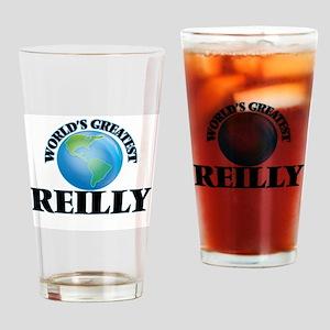 World's Greatest Reilly Drinking Glass