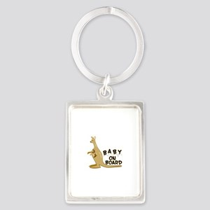 Baby on Board Keychains