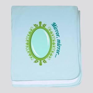 Mirror Mirror baby blanket