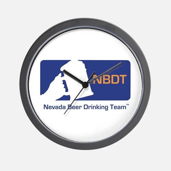 Nevada Beer Drinking Team Wall Clock