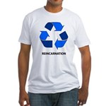 Reincarnation Fitted T-Shirt