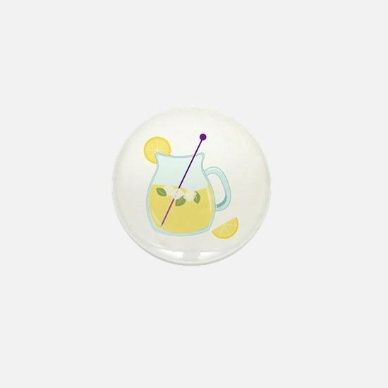 Pitcher of Lemonade Mini Button