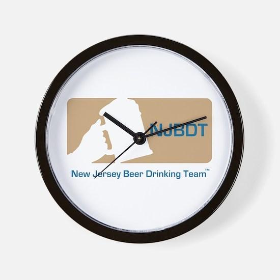 New Jersey Beer Drinking Team Wall Clock