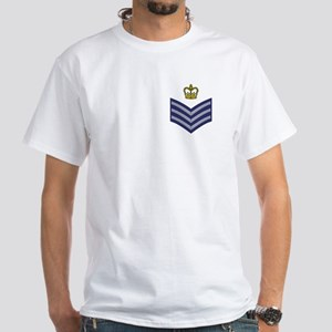 RAF Flight Sergeant<BR> White T-Shirt 2