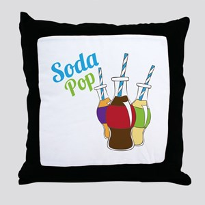 Soda Pop Throw Pillow