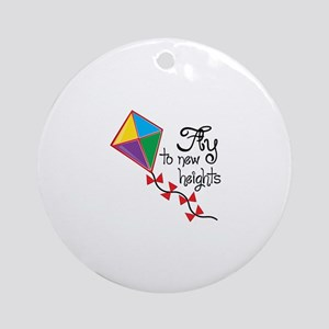 Fly to New Heights Ornament (Round)