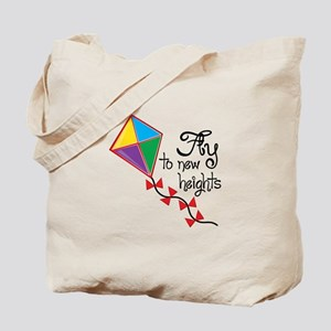 Fly to New Heights Tote Bag