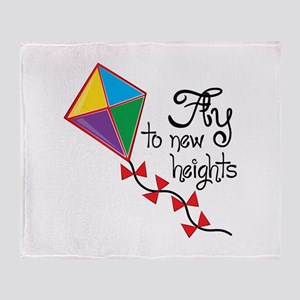Fly to New Heights Throw Blanket