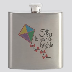 Fly to New Heights Flask
