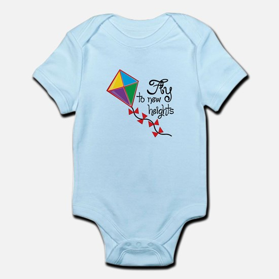 Fly to New Heights Body Suit