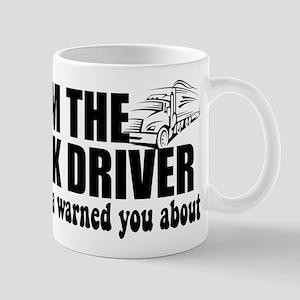 Momma Warned Trucker Mugs