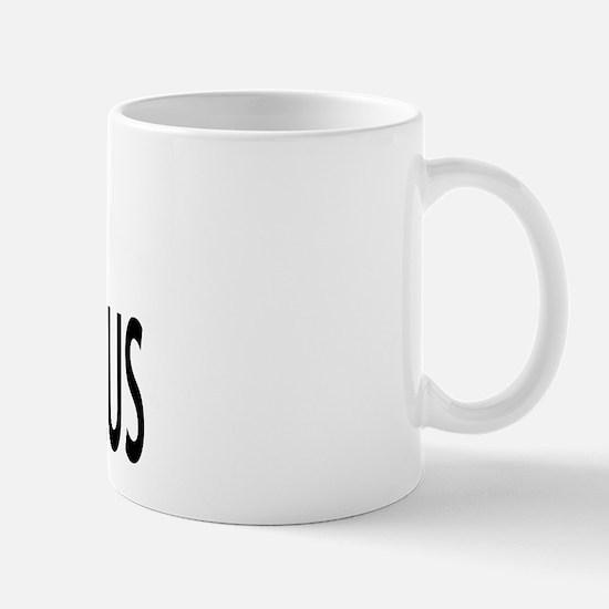 I Love Stegosaurus Mug