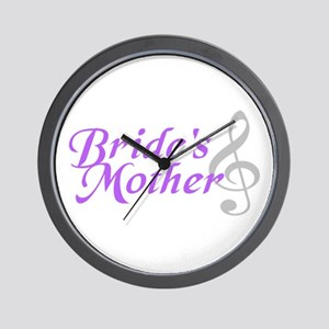 Bride's Mother(clef) Wall Clock