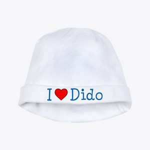 I Love Dido Baby Hat