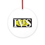 Ivs Ornament (round)