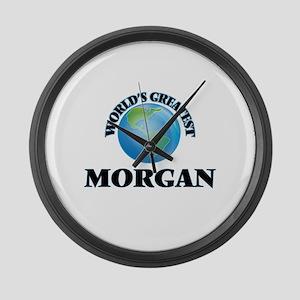 World's Greatest Morgan Large Wall Clock