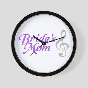 Bride's Mom(clef) Wall Clock