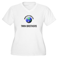 World's Coolest TWIN BROTHERS T-Shirt