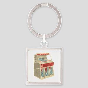 Grunge Retro Jukebox Keychains