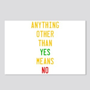 Anything Other Than Yes M Postcards (Package of 8)