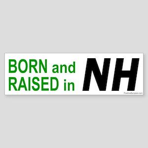 New Hampshire Born Bumper Sticker
