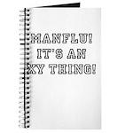Manflu... It's An XY Thing! Journal