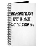 Manflu... It's An XY Thing! Journal