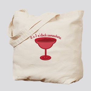 5 OClock Somewhere Tote Bag