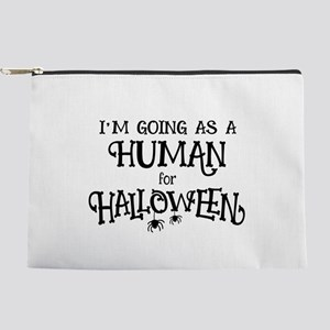 Human Costume Makeup Pouch