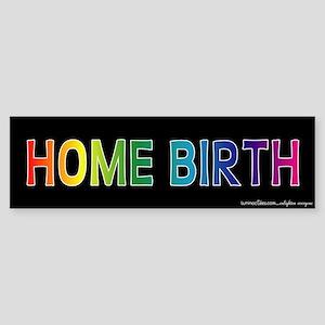Home Birth Bumper Sticker