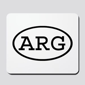 ARG Oval Mousepad