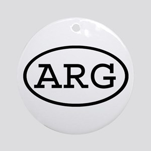 ARG Oval Ornament (Round)